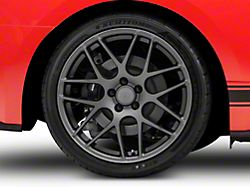 AMR Charcoal Wheel; Rear Only; 20x10 (15-20 GT, EcoBoost, V6)
