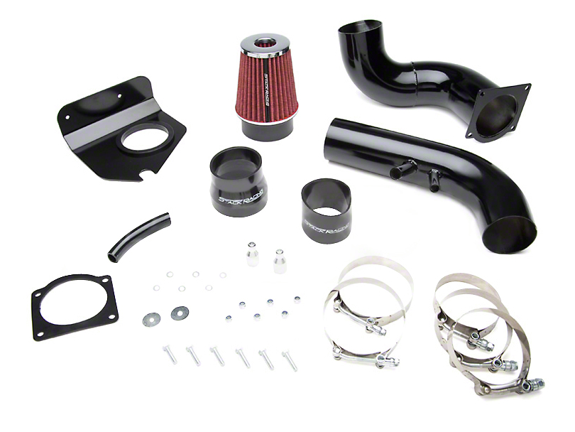 sr performance mustang cai 75mm throttle body w intake. Black Bedroom Furniture Sets. Home Design Ideas