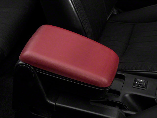 OPR Center Console Arm Rest Kit - Red (87-93 All)