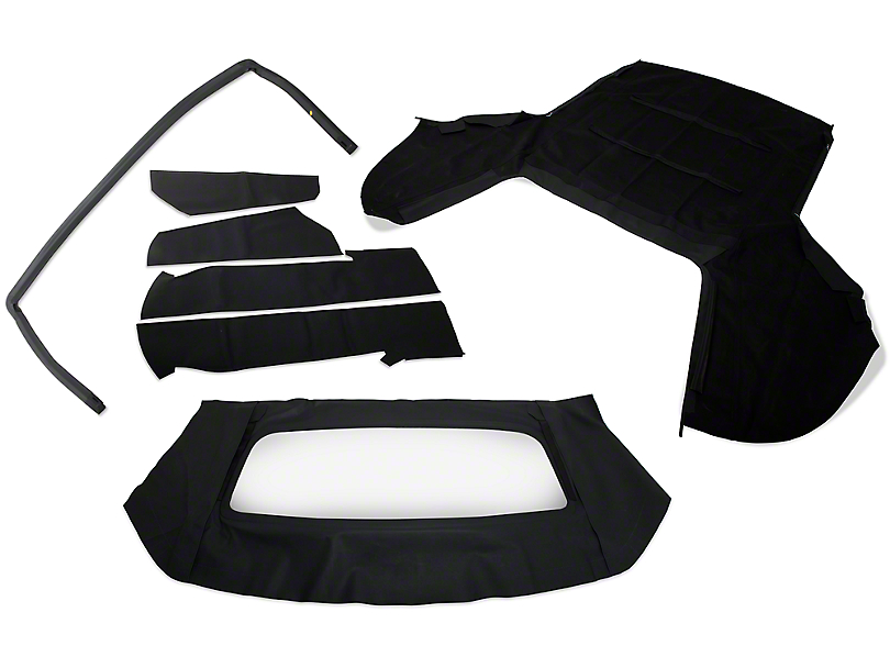 OPR Convertible Top Resto Kit - Black (91-93 All)