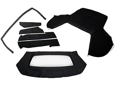 OPR Convertible Top Resto Kit - Black (91-93 Convertible)