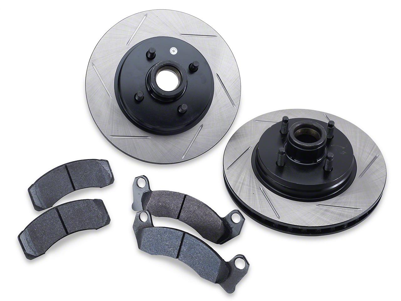 SR Performance Brake Rotor & Pad Kit - Front (87-93 5.0L)