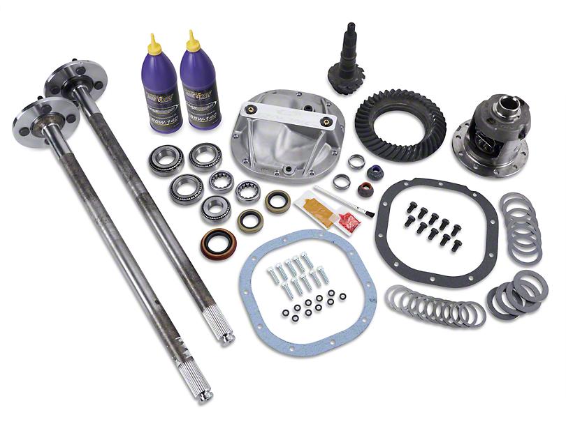 SR Performance 8.8 in. 31 Spline Axle and 3.73 Gear Upgrade Kit - 4 Lug (86-93 5.0L)