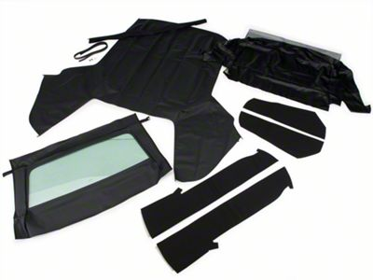 OPR Convertible Top Kit - Black (83-90 Convertible)