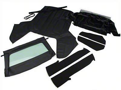 OPR Convertible Top Kit - Black (83-90 Convertible)