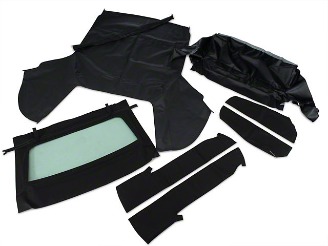 OPR Convertible Top Kit - Black (91-93 Convertible)