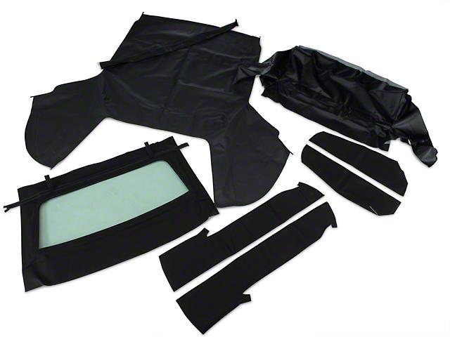 OPR Convertible Top Kit; Black (91-93 Convertible)