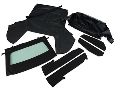 OPR Convertible Top Kit - Black (91-93 All)