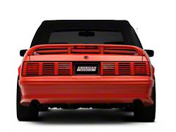 Axial Replacement GT Style Tail Light Lens; Driver and Passenger Side (87-93 All)