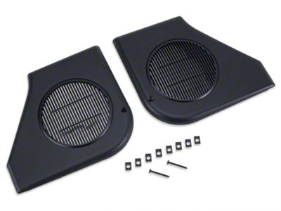 OPR Door Speaker Grille Kit - Black (87-93 All)