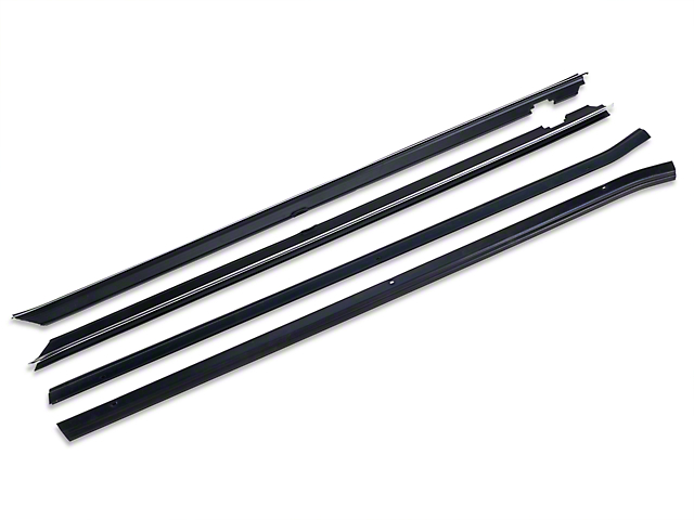 OPR Inner and Outer Door Window Weatherstrip Kit (87-93 Coupe, Hatchback)