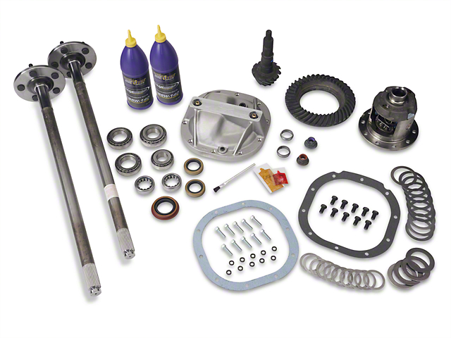 SR Performance 8.8 in. 31 Spline Axle and 3.73 Gear Upgrade Kit - 5 Lug (86-93 5.0L)