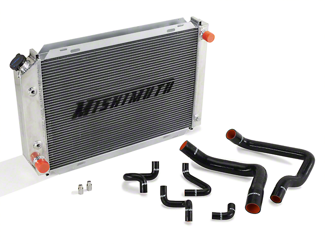 Mishimoto Radiator and Silicone Hose Kit (86-93 5.0L w/ Automatic Transmission)