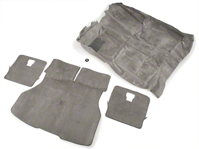 OPR Floor and Hatch Carpet Kit - Titanium Gray (90-92 Hatchback)