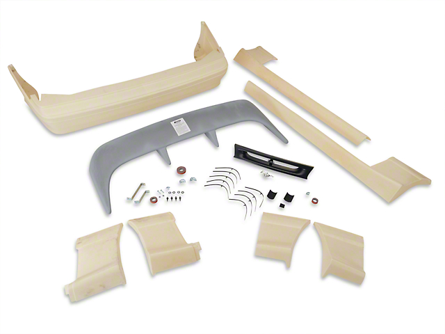 SpeedForm Cobra Style Body Kit - Unpainted (91-93 Hatchback)