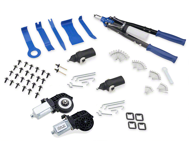 OPR Door Lock Actuator And Power Window Motor Kit (79-93 All)