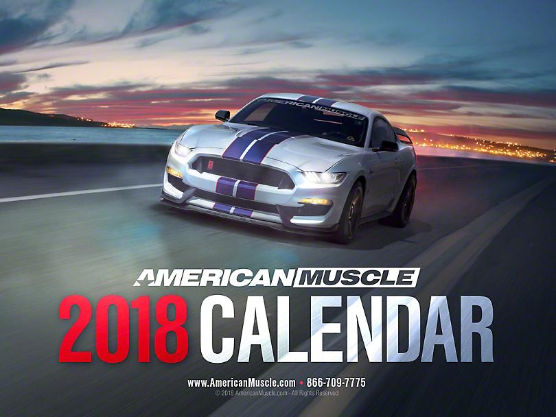Mustang AMM 2018 Calendar - Free Shipping