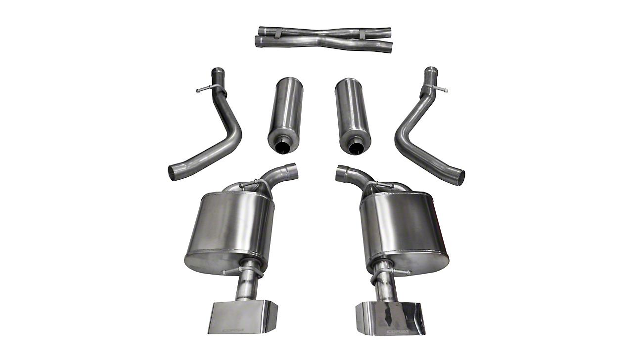 Corsa Sport Cat-Back Exhaust w/ Polished Tips (15-16 5.7L HEMI)