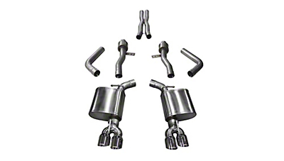 Corsa Sport Cat-Back Exhaust w/ Twin Polished Round Tips (15-19 6.4L HEMI)