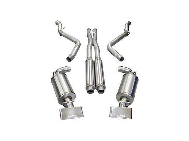 Corsa Xtreme Cat-Back Exhaust w/ Polished Rectangular Tips (08-10 6.1L HEMI)