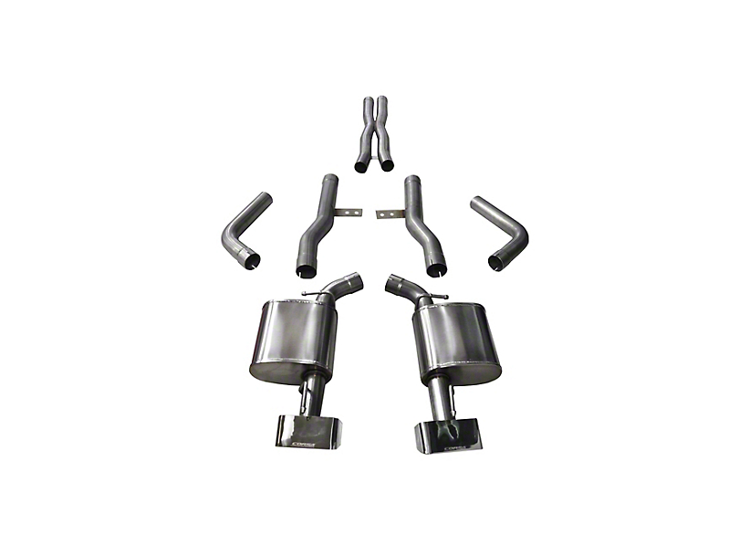Corsa Xtreme Cat-Back Exhaust w/ Polished Tips (15-18 6.4L HEMI)