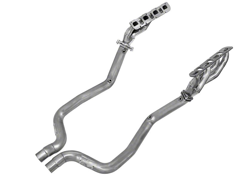 AFE 1-3/4 in. Twisted Steel Shorty Headers & Off-Road Mid-Pipe - Street Series (11-14 6.4L HEMI)