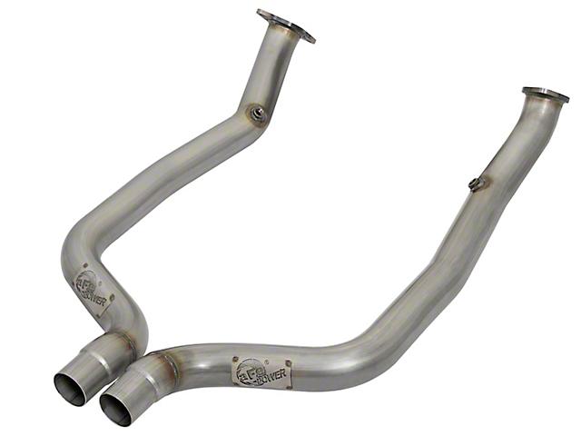 AFE 3 in. Twisted Steel Off-Road Mid-Pipe - Race Series (15-19 6.2L HEMI, 6.4L HEMI)