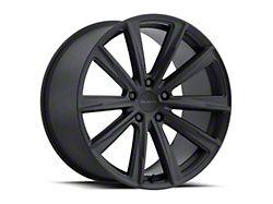 Vision Wheel 471 Splinter Satin Black Wheel; Rear Only; 20x10.5 (08-21 All, Excluding AWD & Demon)
