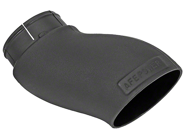 AFE Momentum GT Dynamic Air Scoop; Black (15-21 All, Excluding 19-21 R/T Scat Pack)