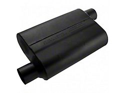 Flowmaster Original 40 Series Offset/Offset Oval Muffler; 2.50-Inch (Universal; Some Adaptation May Be Required)