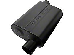 Flowmaster Super 44 Series Offset/Offset Oval Muffler; 2.25-Inch (Universal; Some Adaptation May Be Required)