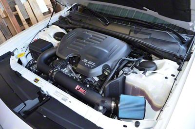 Injen Challenger Power Flow Cold Air Intake Wrinkle Black Pf5072wb 11 19 3 6l