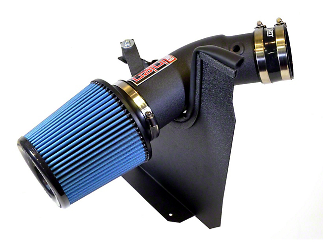 Injen Power-Flow Cold Air Intake - Wrinkle Black (11-19 6.4L HEMI)