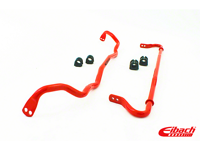 Eibach Anti-Roll Front and Rear Sway Bars; Tubular and Solid (08-21 All)