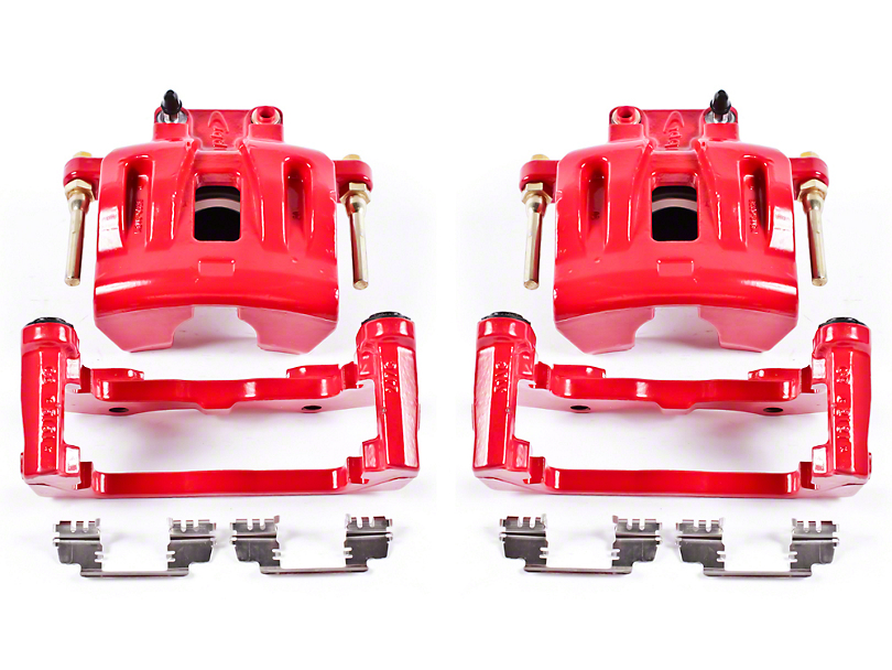 Power Stop Performance Front Brake Calipers - Red (09-10 SE; 2011 SE w/ Single Piston Front Calipers)