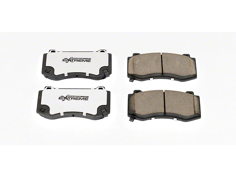 Power Stop Z26 Extreme Performance Ceramic Brake Pads; Front Pair (08-14 SRT8; 15-16 Scat Pack; 2017 R/T 392; 18-20 w/ 4-Piston Front Calipers)