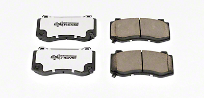 Power Stop Z26 Extreme Performance Ceramic Brake Pads - Front Pair (08-14 SRT8; 15-16 Scat Pack; 2017 R/T 392; 18-19 w/ 4-Piston Front Calipers)