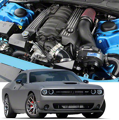 Procharger High Output Intercooled Supercharger System - Complete Kit (15-18 6.4L HEMI)