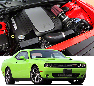 Procharger High Output Intercooled Supercharger System - Complete Kit (15-18 5.7L HEMI)