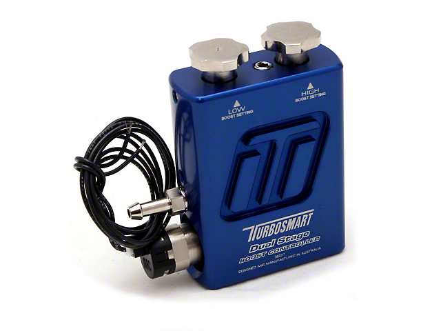 Turbosmart Dual Stage V2 Boost Controller; Blue (Universal Fitment)