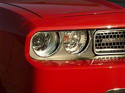Brushed Headlight Surrounds (08-14 All)