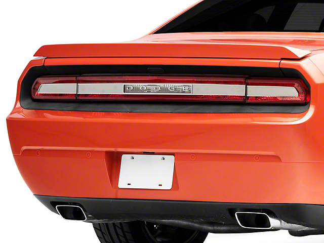 Brushed Tail Light Insert Trim Plate (08-14 All)