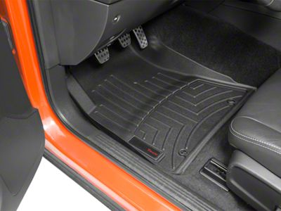 Weathertech Challenger Digitalfit Front Floor Liners Black 4410491 15 21 All Excluding Awd