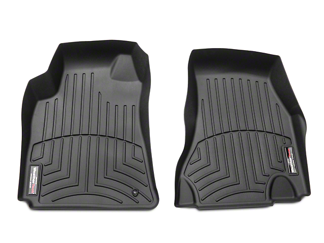 Weathertech DigitalFit Front Floor Liners - Black (08-10 All)