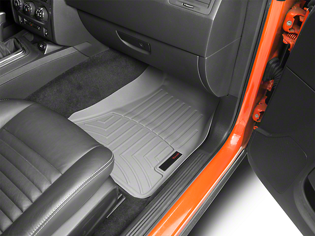 Weathertech DigitalFit Front Floor Liners - Gray (15-20 All, Excluding AWD)
