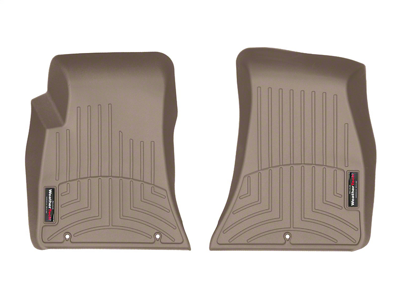 Weathertech DigitalFit Front Floor Liners - Tan (15-20 All, Excluding AWD)