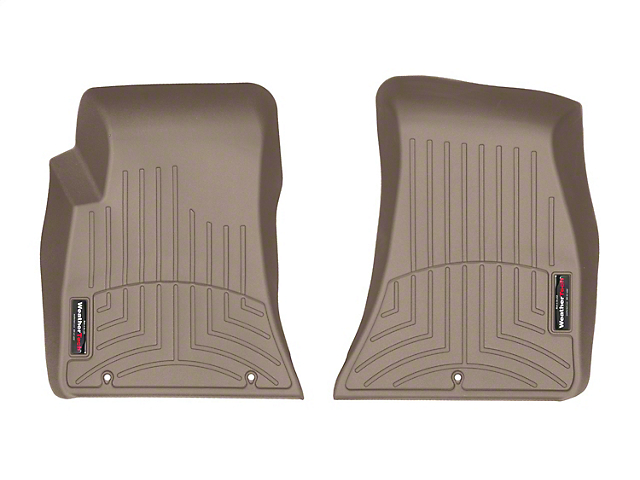 Weathertech DigitalFit Front Floor Liners; Tan (15-20 All, Excluding AWD)