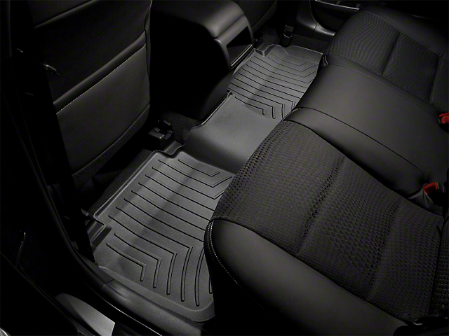 Weathertech DigitalFit Rear Floor Liners; Black (08-10 All)