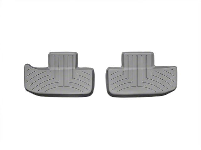 Weathertech DigitalFit Rear Floor Liners; Gray (11-20 All)