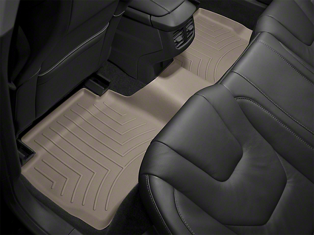 Weathertech DigitalFit Rear Floor Liners; Tan (08-10 All)